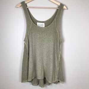 Free People | Swing Tank with Gauze Inserts